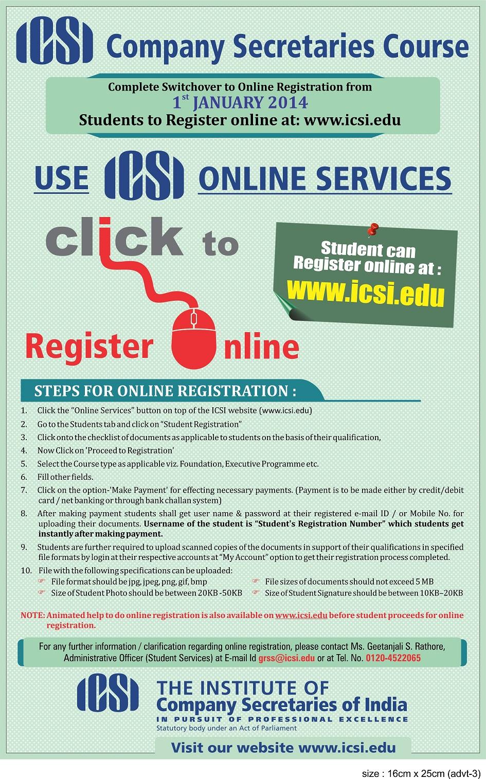 the institute of company secretaries of india the icsi