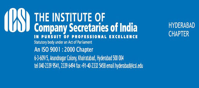 Welcome to ICSI Hyderabad Capter