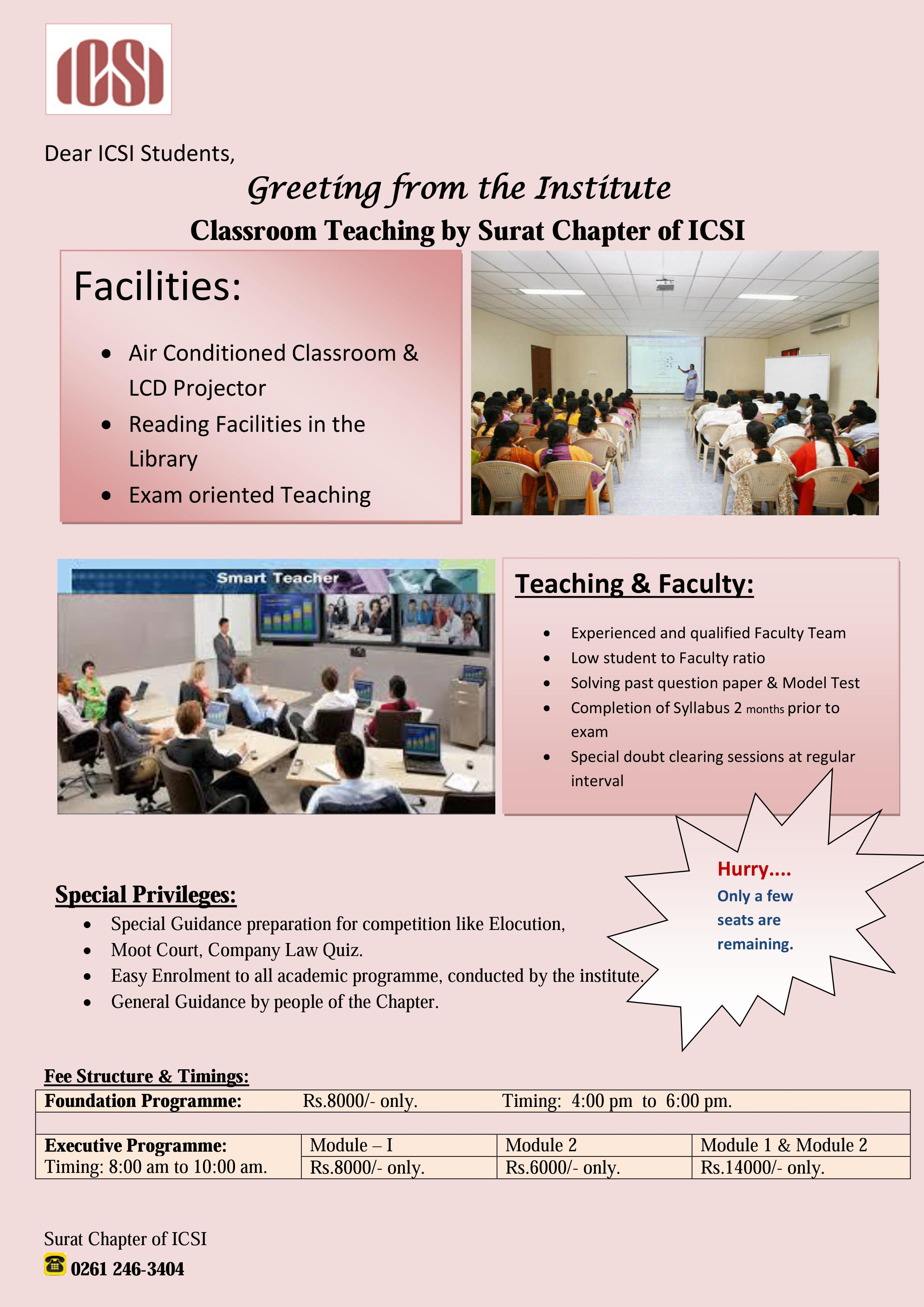 Surat Chapter Of ICSI