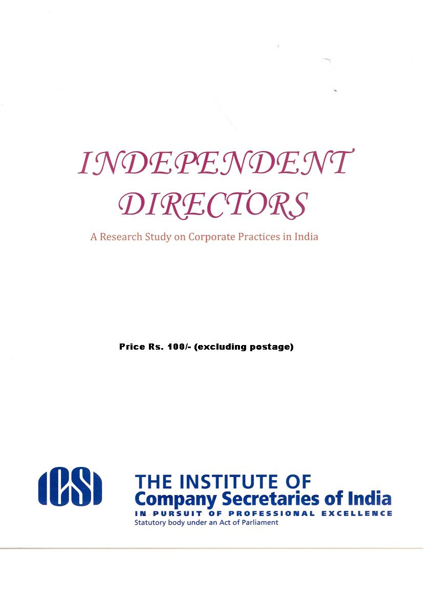 independent directors in an organisation The relationship between the board of directors and the management cannot be  there must be a provision for having independent directors and those directors.